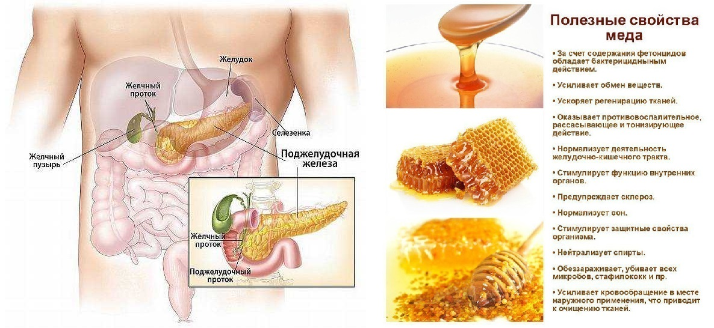 Панкреатит диета мед можно thumbnail